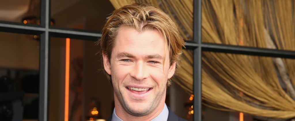 Chris Hemsworth Thanks Matt Damon For His Sexiest Man Alive Win