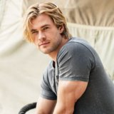 Chris Hemsworth People's Sexiest Man Alive 2014 Cover