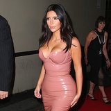 Kim Kardashian's Latex Dress