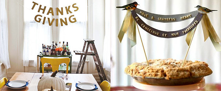 10 Thanksgiving DIYs That Make Hosting Look Easy