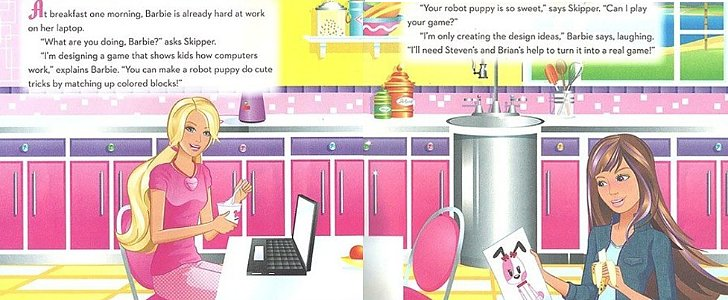 The Barbie Programming Book Is the Opposite of Empowering