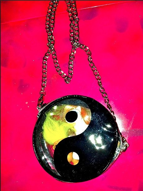 See-Through Yin Yang Purse