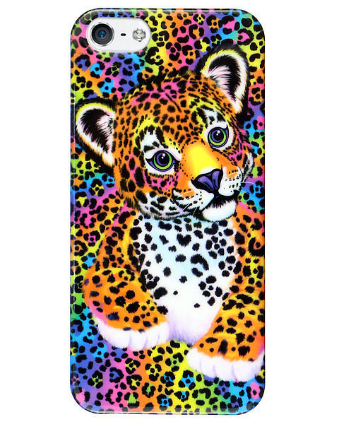 Lisa Frank Leopard iPhone Case