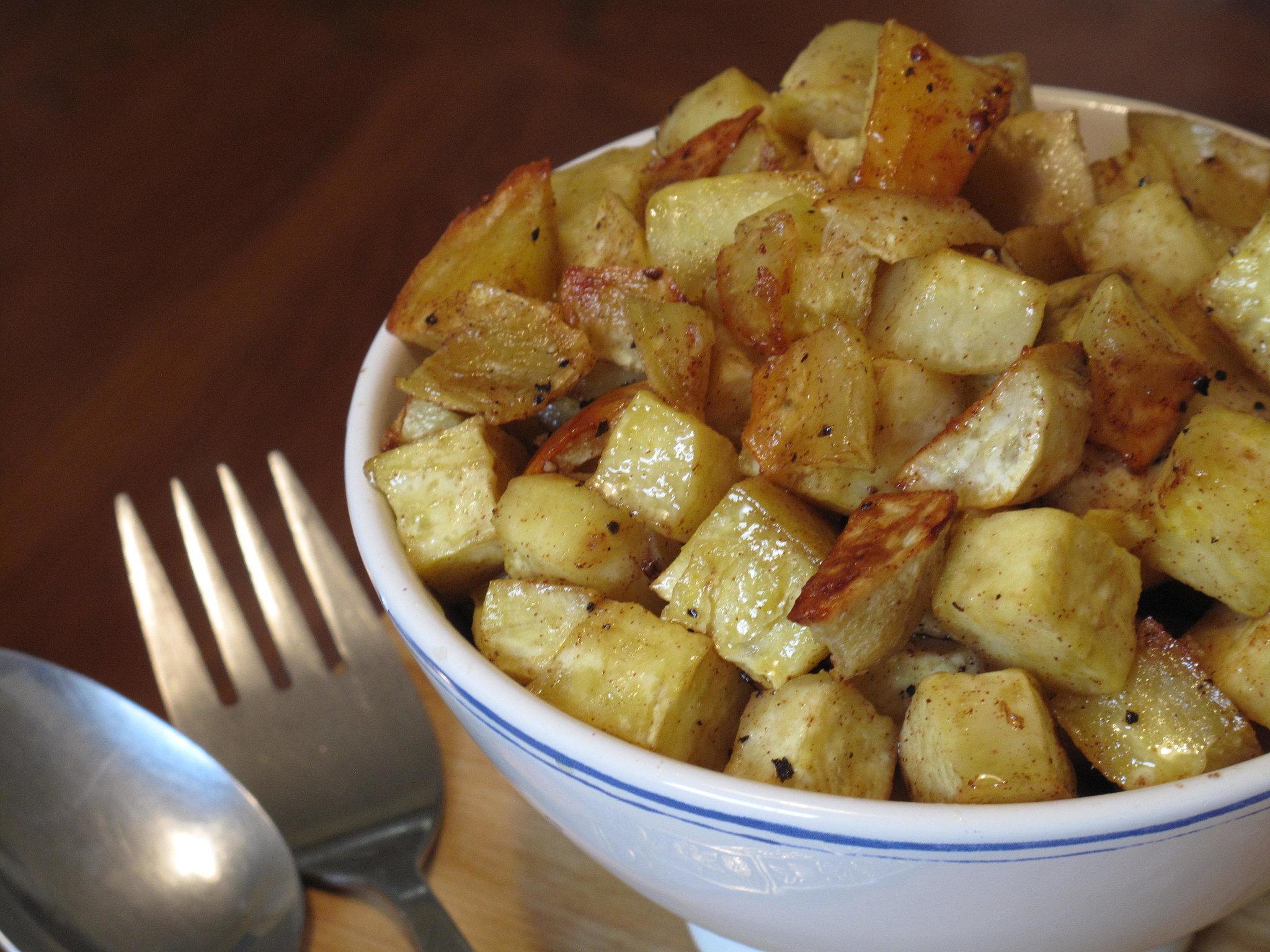 Roasted Sweet Potatoes With Honey