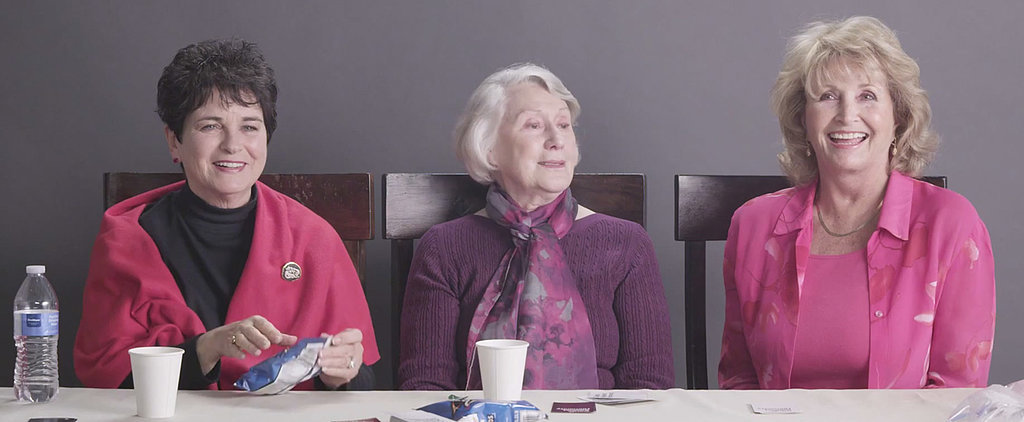 Watch 3 Giggly Grandmas Get High For the First Time