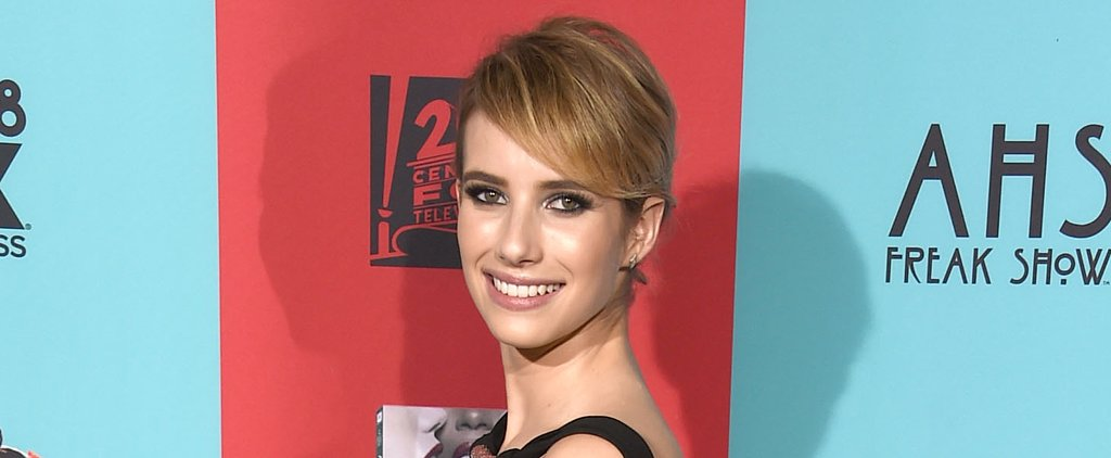 "Emma Roberts Discusses the Importance of the ""No Makeup"" Trend"