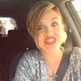 Woman Does Celebrity Impressions in Traffic