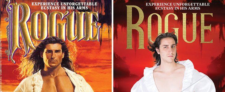 Romance Novel Covers Get Hilarious Real-People Remakes