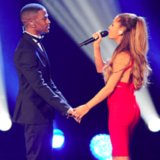 Ariana Grande and Big Sean Kissing Pictures