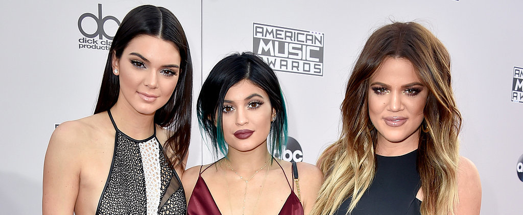 Khloé, Kendall, and Kylie Show Serious Skin at the AMAs