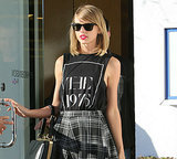 Taylor Swift Continues to Communicate via T-Shirt