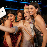 Celebrities in the Audience at American Music Awards 2014