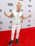 Frankie Grande Wears a Painted-On Shirt to the AMAs