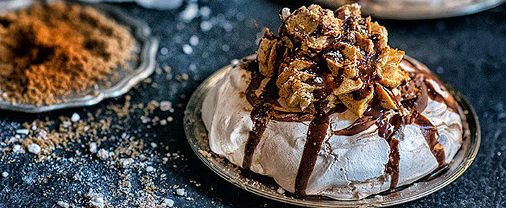 Biscoff Spread and Chocolate Combine Forces For the Dreamiest Meringues