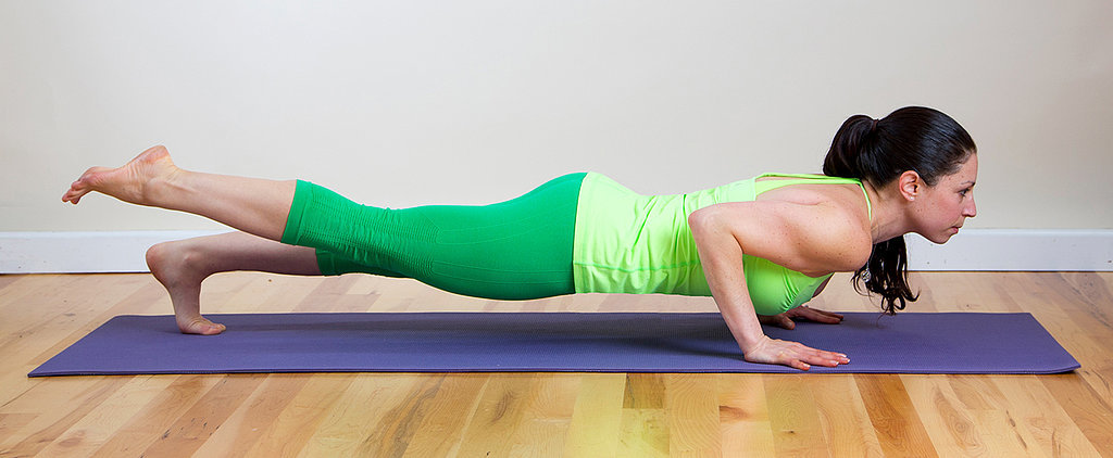 A Challenging Yoga Sequence For a Deep Ab and Thigh Burn