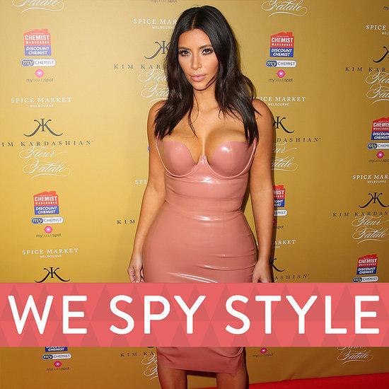 We Spy Kim Kardashian and North West Paparazzi | Video