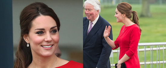 Kate Middleton Brings Her Baby Bump Out For a Day With Kids