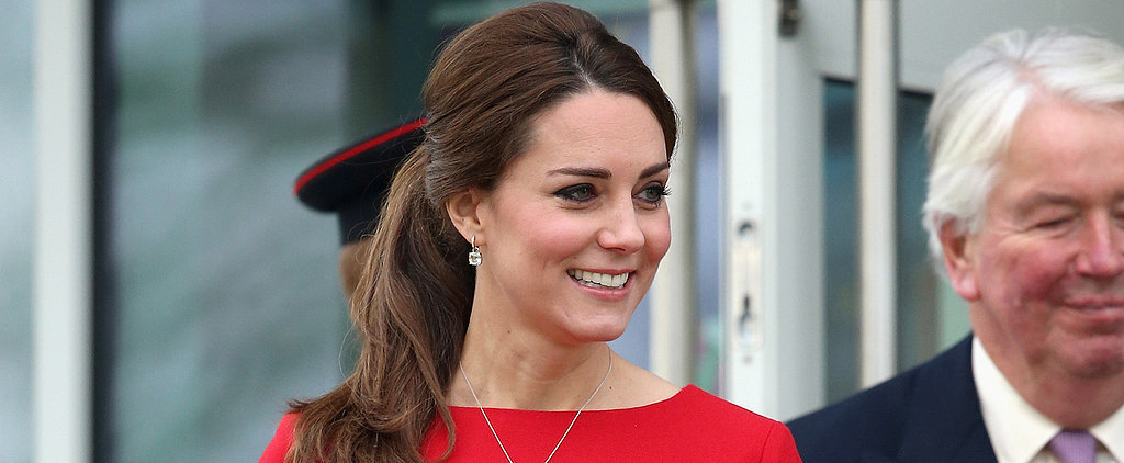 Kate Middleton's Mama-to-Be Style Is Red Hot