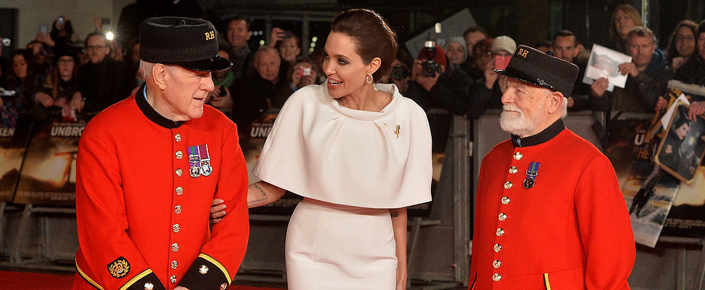 It Doesn't Look Like Angelina Is Missing Brad on the Red Carpet