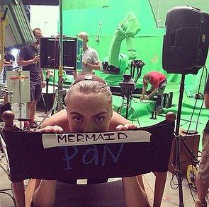 Cara Delevingne's Pan Trailer
