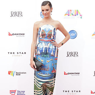 Montana Cox at the ARIAS Wearing Alice McCall in 2014