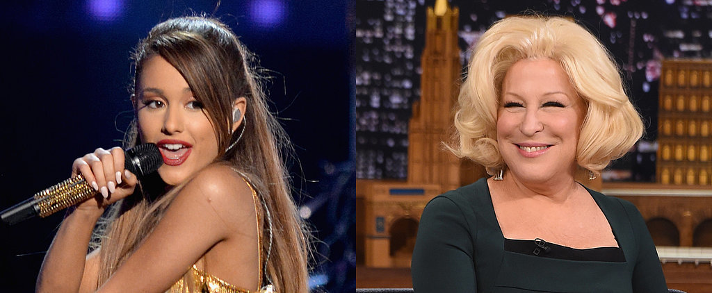 Ariana Grande Has a Surprising Response to Bette Midler's Dis