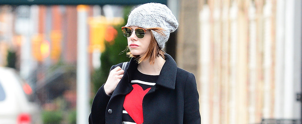 Emma Stone Just Stepped Out in Every Girl's Perfect Fall Uniform