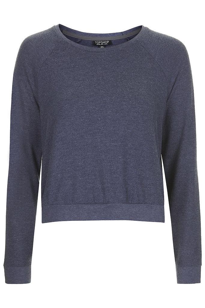 Topshop Textured Loungewear Sweater