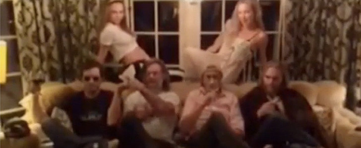 Kate Hudson and Her Family Take on the Houghs in a Thanksgiving Dance Battle