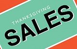 100+ Thanksgiving Sales To Shop Now Before The Feeding Frenzy Starts