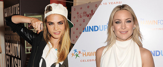 Kate Hudson and Cara Delevingne Take on a Dance Battle