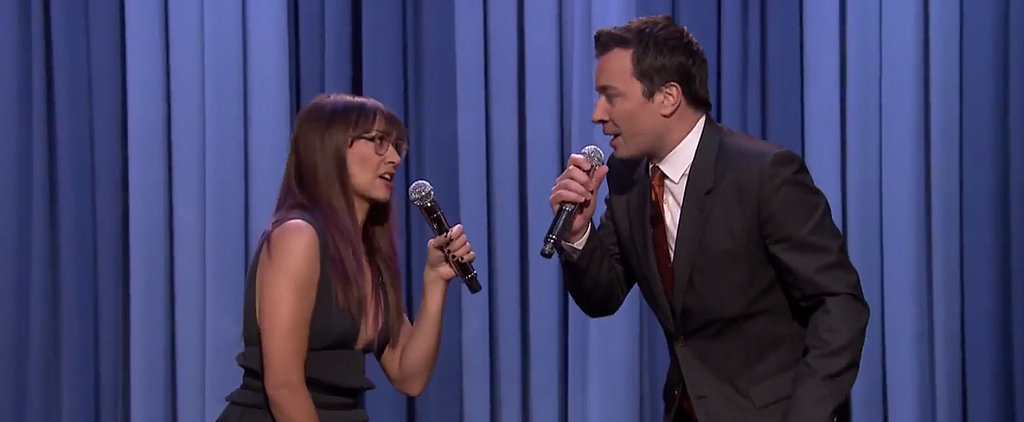 "Watch Jimmy Fallon Turn ""Let It Go"" Into a Holiday Tune"