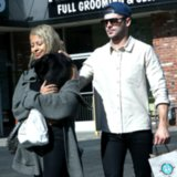 Zac Efron and Sami Miro With a Dog | Pictures