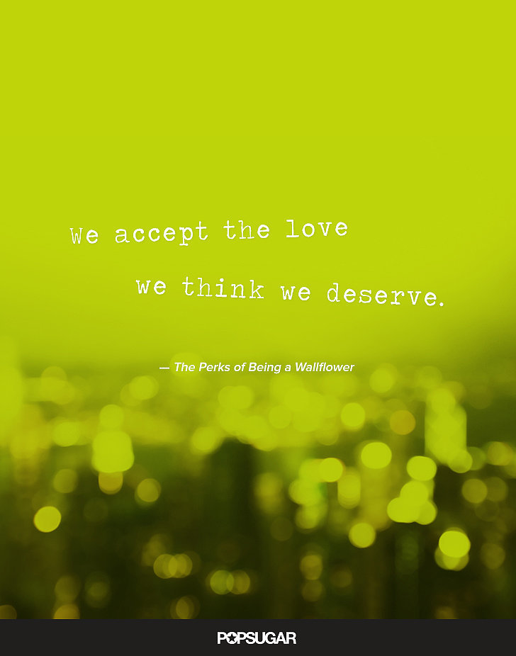 Perks of being a wallflower quote