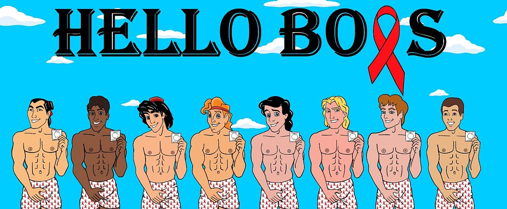 Disney Princes Strip Down For World AIDS Day