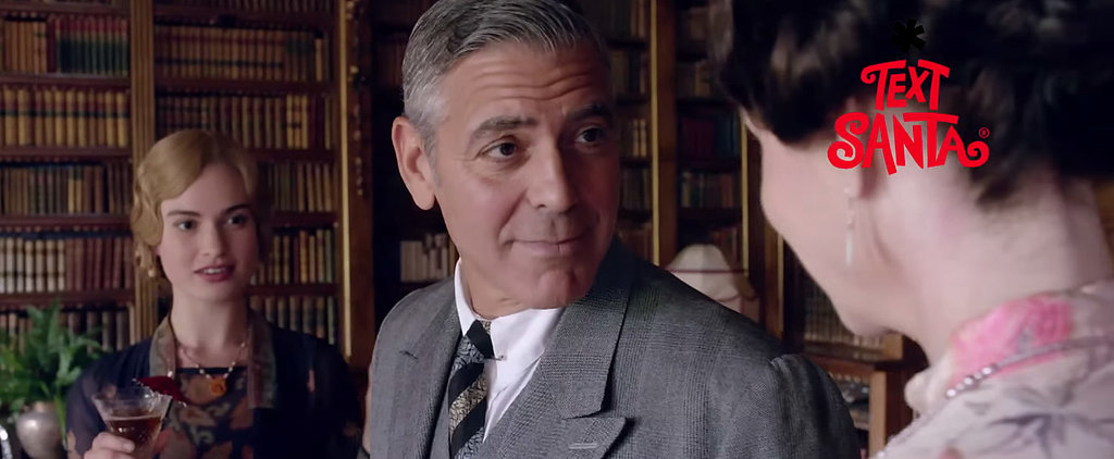 Here's Your First Look at George Clooney in Downton Abbey
