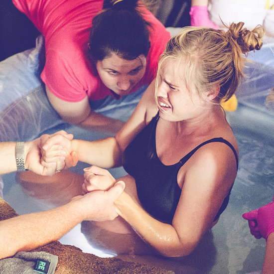 Photographs of a Home Water Birth