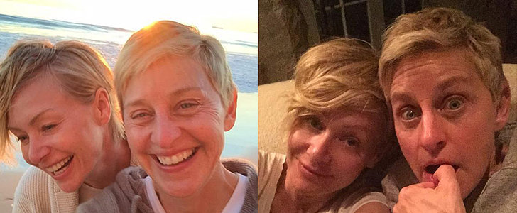 Ellen DeGeneres and Portia de Rossi Are One Really Cute Couple