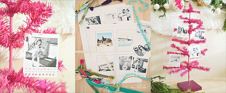 Add a Personal Touch to Your Holiday Decor With DIY Instagram Photo Ornaments