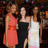 Models and Celebrities at the Chopard Christmas Party