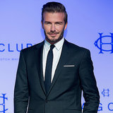 David Beckham Launching a Fashion Line