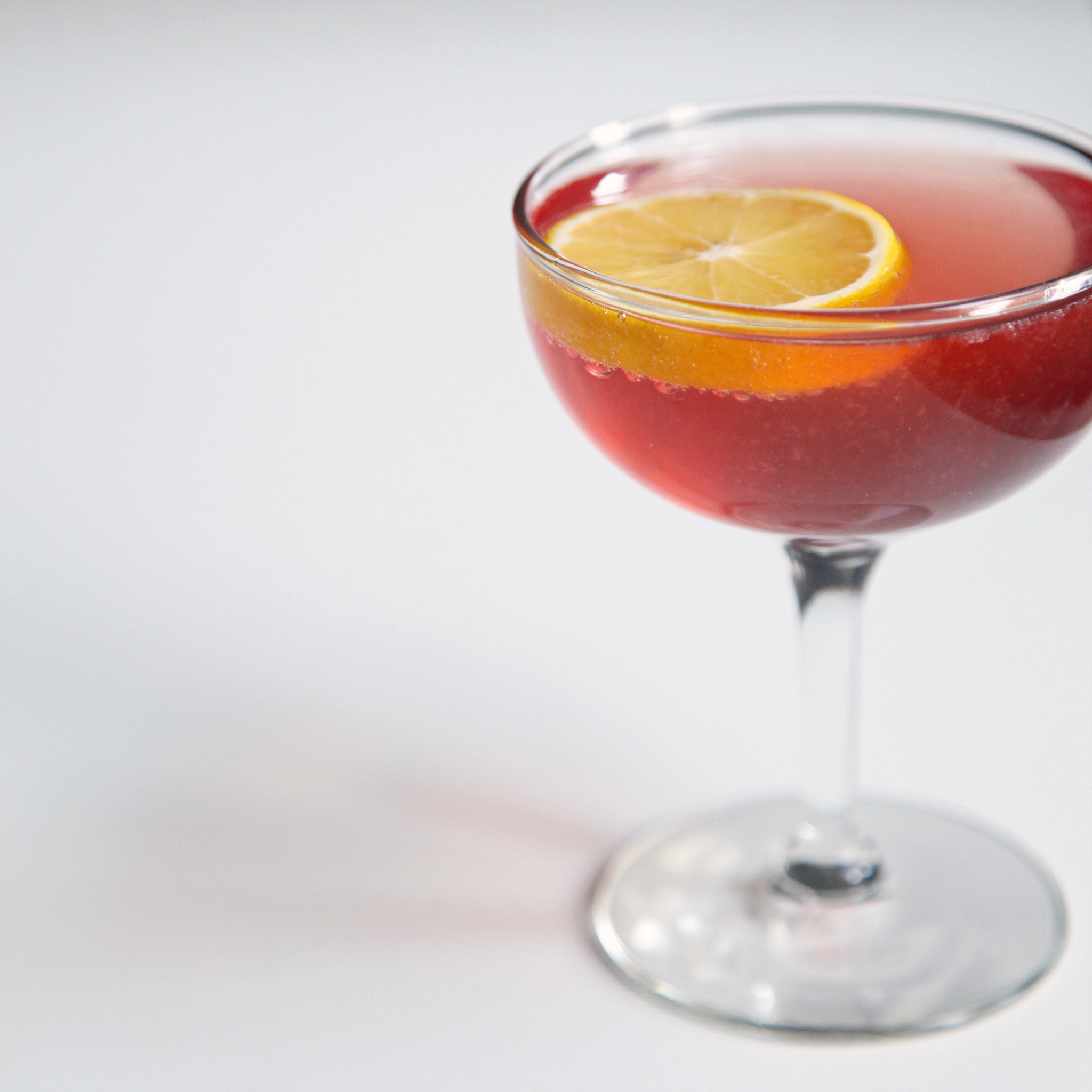 Toast to Christmas With a Festive, Poinsettia-Colored Cocktail