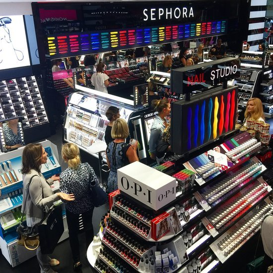 Pictures Inside the First Sephora Store in Sydney Australia