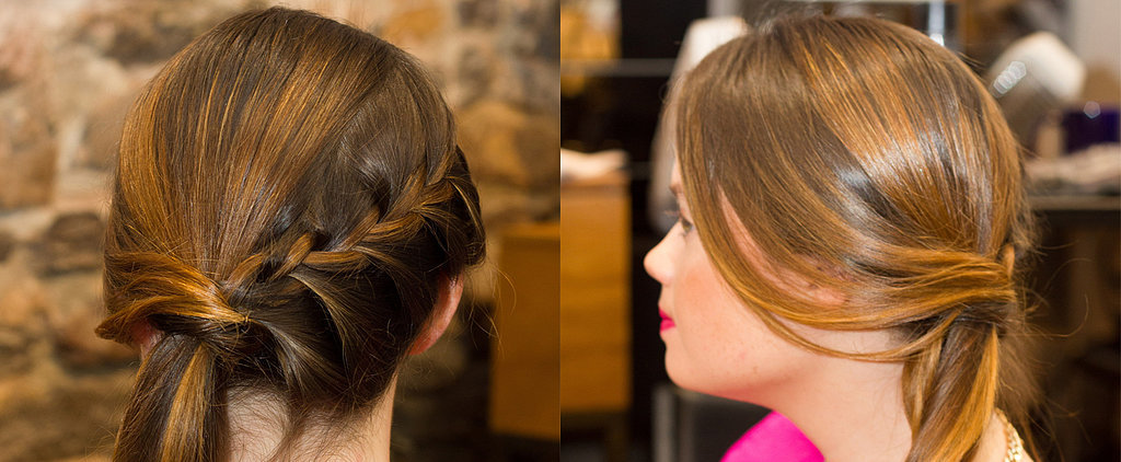 DIY This Festive Braided Ponytail For Your Next Holiday Party