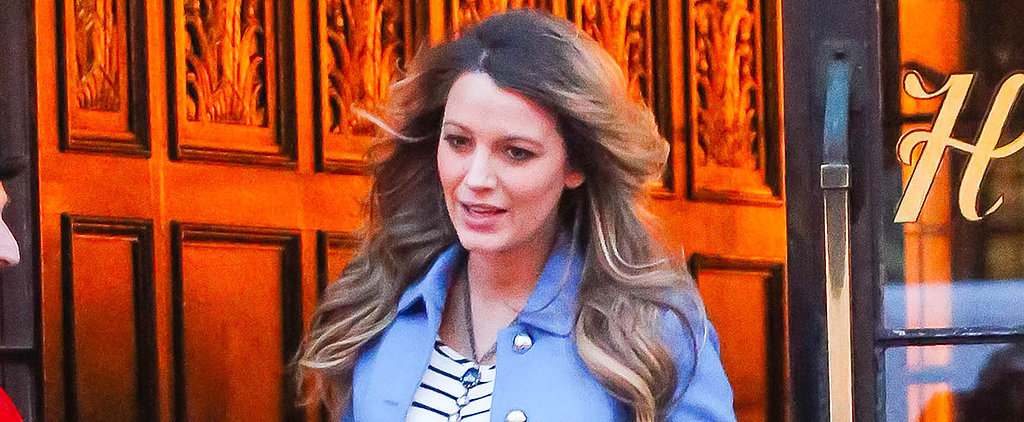 Blake Lively Isn't Quitting Her Heels Just Because She's Pregnant