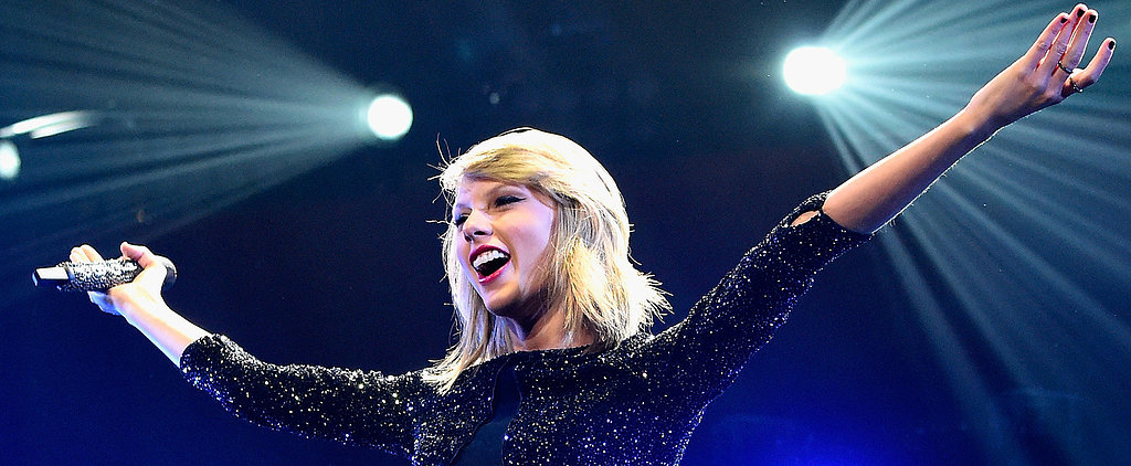 Taylor Swift Shakes Off Those Kissing Rumors at the Jingle Ball Concert