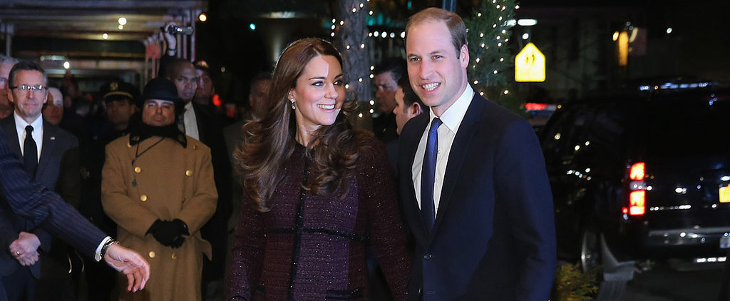 Kate Middleton Arrived in New York Wearing the Perfect Holiday Outfit
