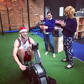 Hamish Blake Rows 42km For Christmas Charity