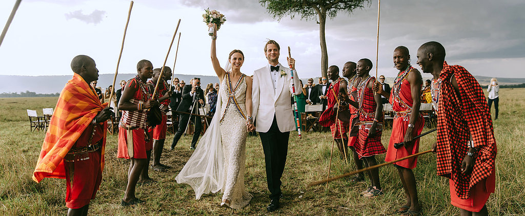 Nina and Sebastian's Kenyan Wedding Will Take Your Breath Away