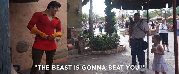 This Little Girl Really Wants Disney's Gaston to Know That She Hates Him